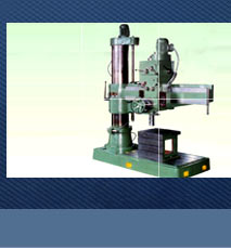 Semi Geared Radial Drilling Machines